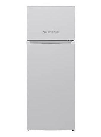 NordMende RFF264WHA+ 54cm Wide, Freestanding, Top Mount Fridge Freezer | White