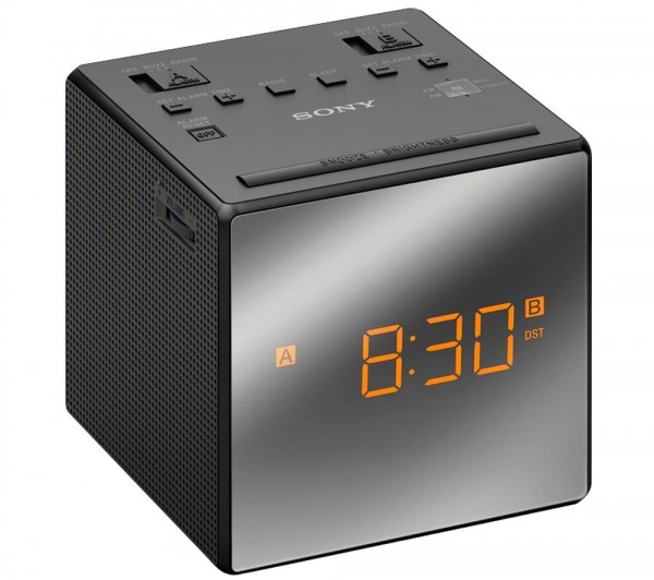 Sony ICF-C1TW Clock Radio | Black