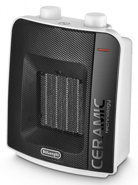 De'Longhi DCH6031 Ceramic Fan Heater | White/Black