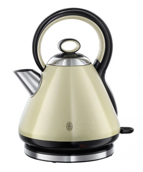 Russell Hobbs 21888 'Legacy' Quiet Boil Kettle 3000 W 1.7 Litre | Cream