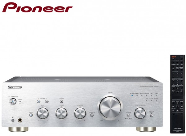 Pioneer A-70DA Audiophile Pure Audio Full Amplifier/Converter | Silver