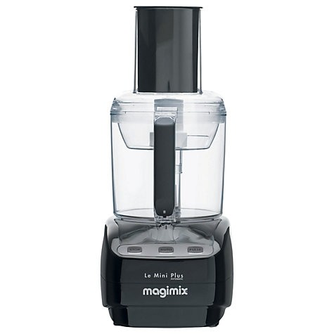 Le Mini Plus Food Processor with BlenderMix in Black
