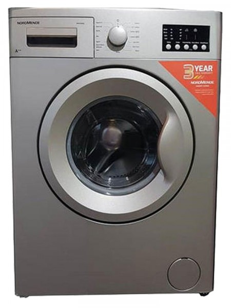 NordMende WM1264SL 6KG 1200 Spin Washing Machine | Silver