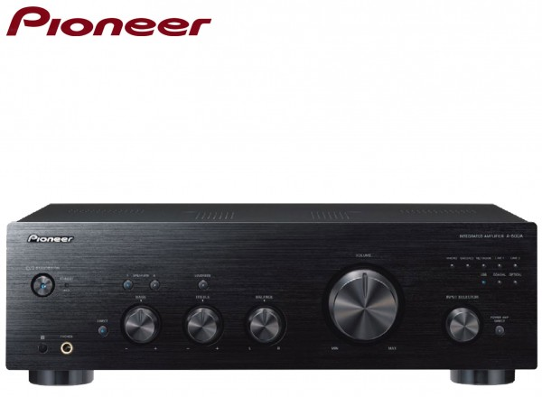 Pioneer A-50DA Pure Audio Full Amplifier/Converter Phono and asynchronous USB Digital Input | Black