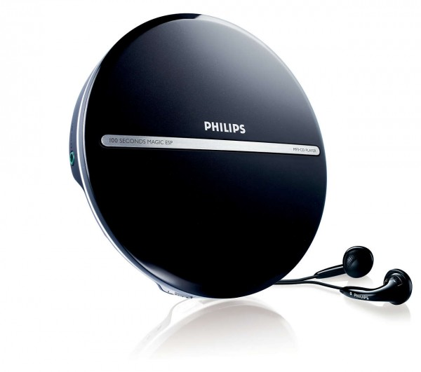 Philips EXP2546/12 Portable MP3/CD Player | Black