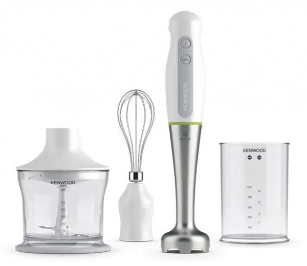 Kenwood HDP109WG Triblade Hand Blender with Stainless Steel Wand | White