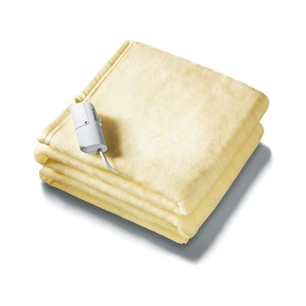 King Size Dual Control Luxury Soft Washable Heated Overblanket