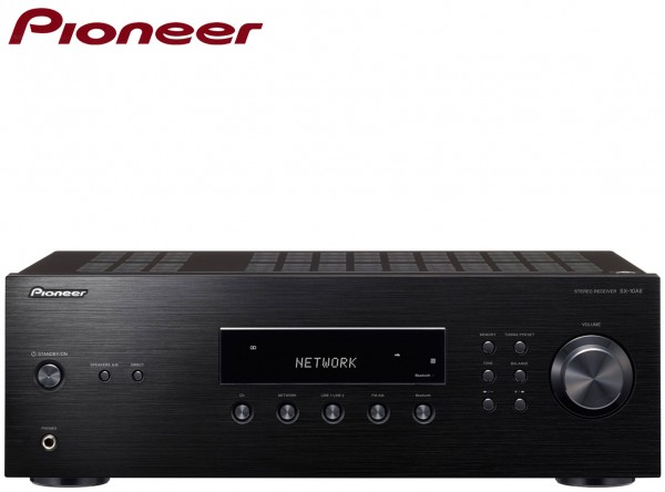 Pioneer SX10AE 200W Stereo Receiver with FM Radio and Bluetooth | Black