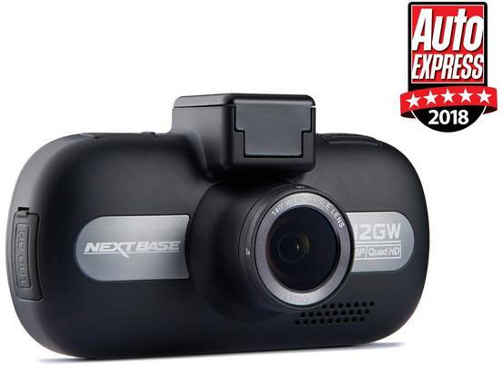 Nextbase 512GW Dashcam 1440p HD with Wi-Fi GPS & Anti-Glare Filter