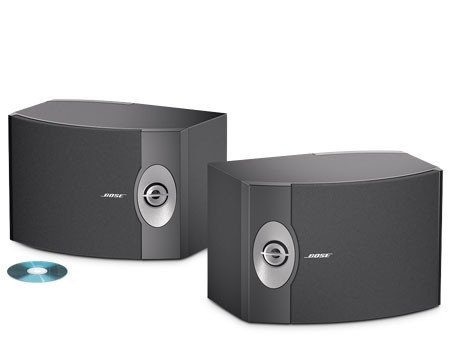 Bose 201 Direct/Reflecting Speakers Pair | Black