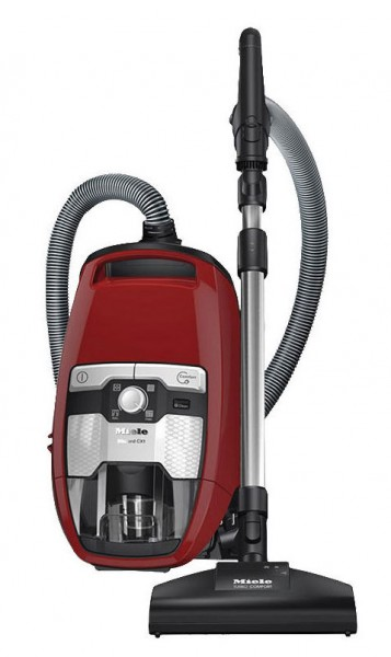 Miele Blizzard CX1 Cat and Dog PowerLine Bagless Vacuum Cleaner | Autumn Red