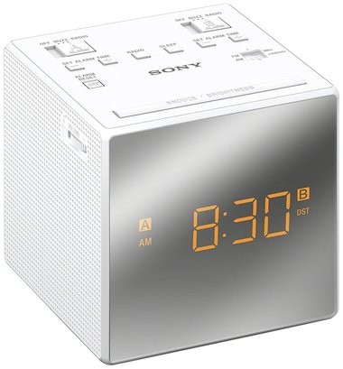 Sony ICF-C1TW Clock Radio | White