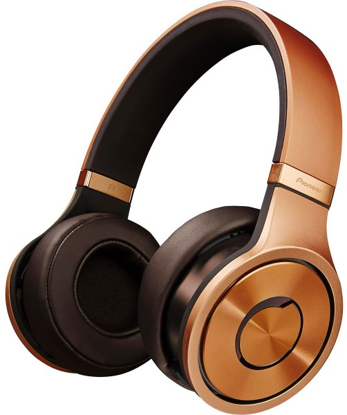 Pioneer SE-MX9T Superior Club Sound Dynamic Stereo Headphones | Bright Copper