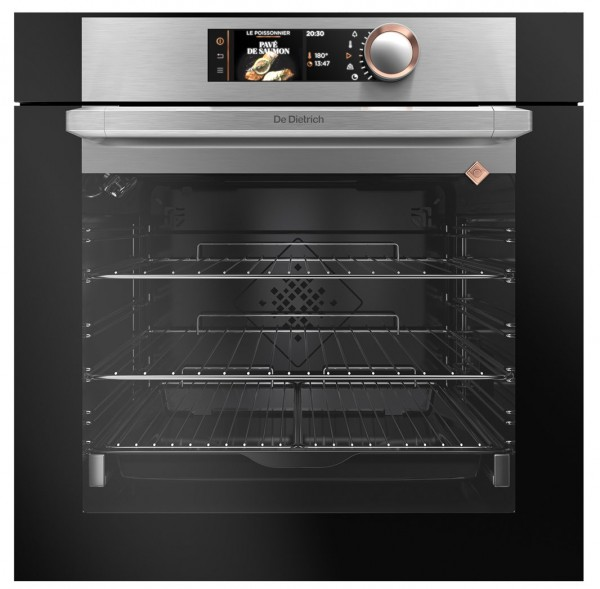 De Dietrich DOP7785X Built-In Multi-Function Single Oven with Pyroclean | Stainless Steel