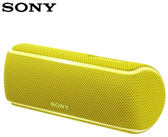 Sony SRS-XB21 EXTRA BASS Portable Bluetooth Speaker | Yellow