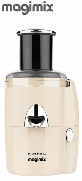Magimix Le Duo XL Plus Juice Extractor in Cream