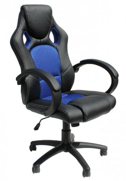 Alphason 'Daytona' Racing Style Office / Gaming Chair | Black & Blue
