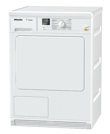 Miele TDA140C Condenser Tumble Dryer, 7kg Load, B Energy Rating | White