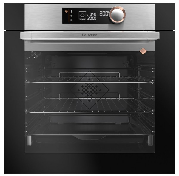 De Dietrich DOP7340X Built-In Multi-Function Single Oven with Pyroclean | Stainless Steel