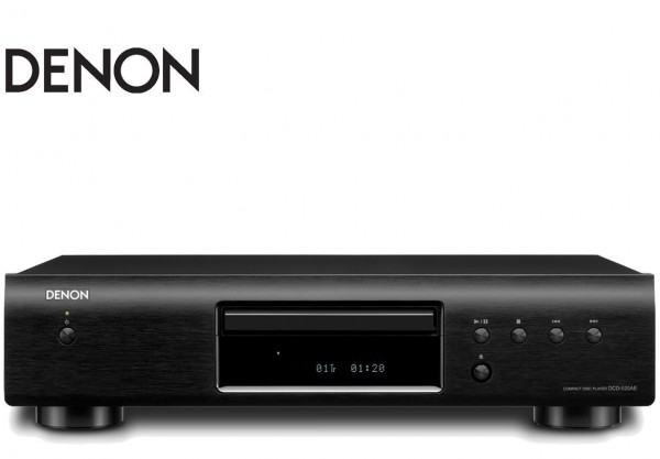 Denon DCD-520AE Solidly designed CD Player | Black