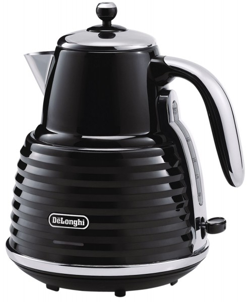 De'Longhi Scultura Kettle in Gloss Black