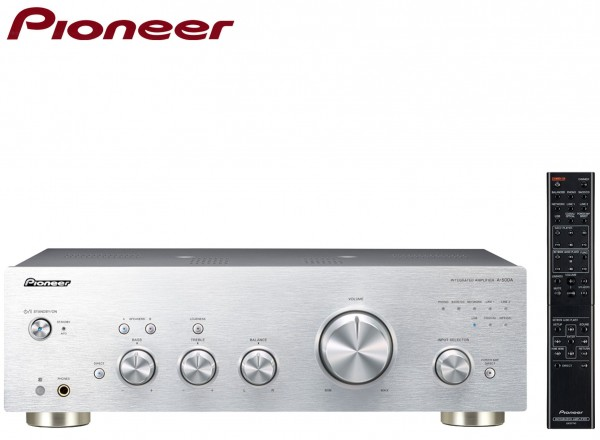 Pioneer A-50DA Pure Audio Full Amplifier/Converter Phono and asynchronous USB Digital Input | Silver