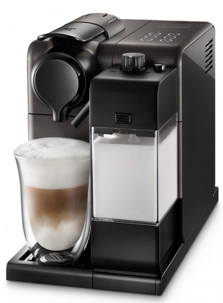 Nespresso Lattissima 'Touch' Coffee Machine in Matt Black Finish