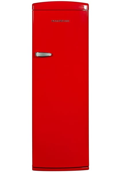 Nordmende RET341RA+ Freestanding Retro Fridge with Ice Compartment | Red