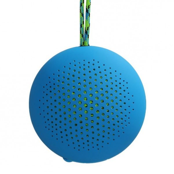 Boompods 'rokpod' Bluetooth Outdoor Portable Speaker | Blue