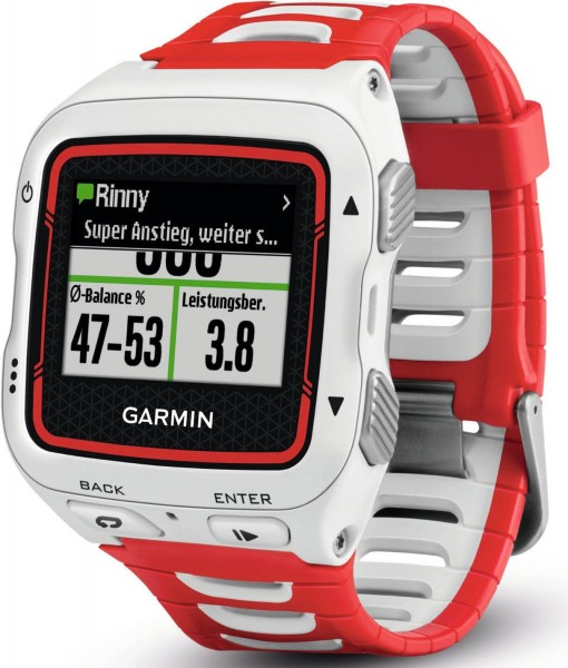 Forerunner 920XT Multisport GPS Watch with Running Dynamics and Connected Features in White/Red