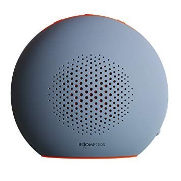 Boompods Doubleblaster 2 Wireless Bluetooth Speaker | Grey/Orange