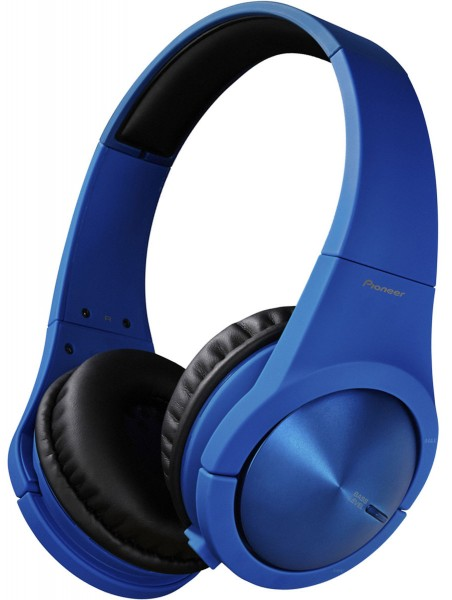 Pioneer SE-MX7L Superior Club Sound Dynamic Stereo Headphones | Blue