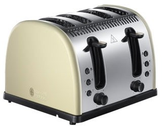 Russell Hobbs 21302 'Legacy' Collection 2 Slice Toaster in Cream