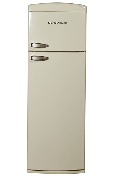 Nordmende RET347CA+ Freestanding Retro Fridge Freezer | Cream