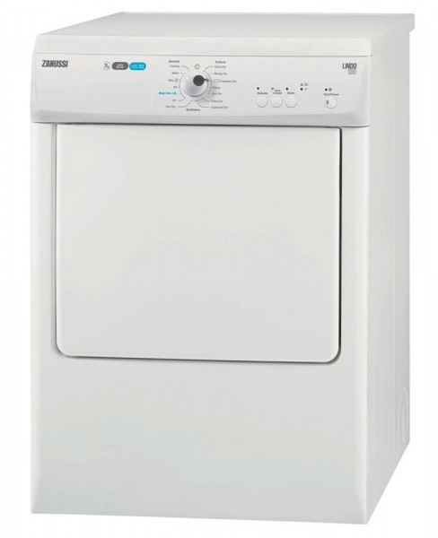 Zanussi ZTE7101PZ Vented Tumble Dryer | White