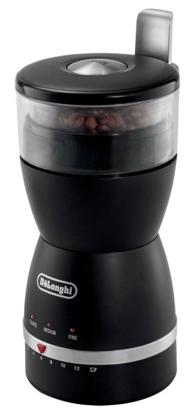 De'Longhi KG49 Electronic Coffee-Bean Grinder with 3 Grind Settings