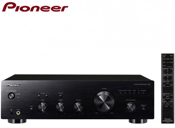 Pioneer A-30 Stereo Amplifier with Direct Energy Design | Black