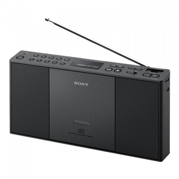 Sony ZS-PE60 Slim Compact CD/Radio Boombox | Black