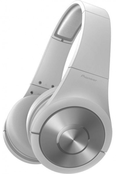Pioneer SE-MX7W Superior Club Sound Dynamic Stereo Headphones | White