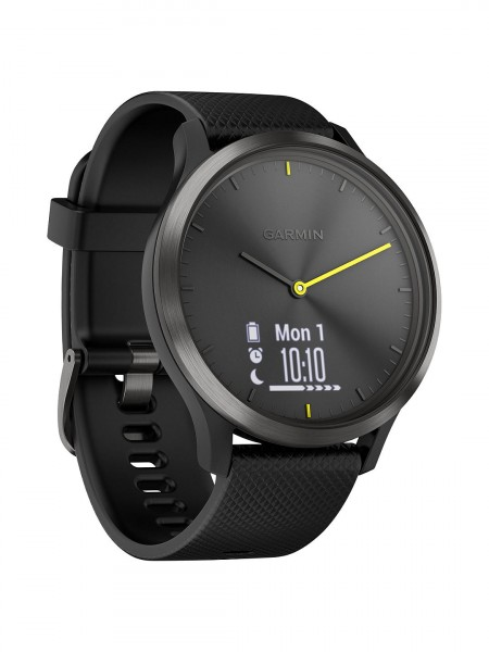 Garmin Vivomove HR Sport Smartwatch, Large | Black