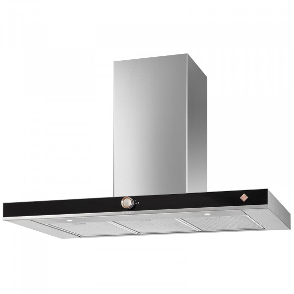 De Dietrich DHB7952X 90cm Decorative Wall Extractor Hood | Stainless Steel