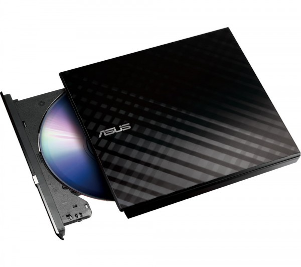 ASUS SDRW-08D2S-U LITE Portable 8X DVD Burner for Windows & Mac OS