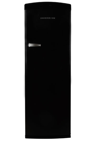 NordMende RET340BL+ Freestanding Retro Fridge with Ice Compartment | Black