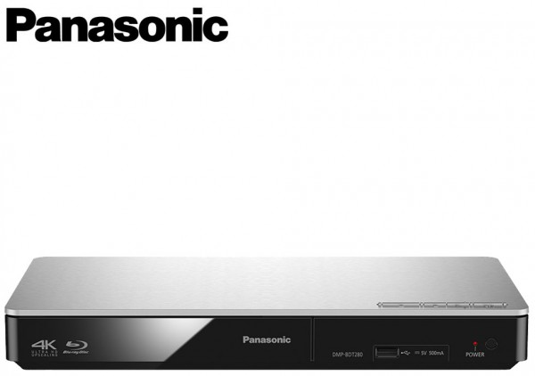 Panasonic DMP-BDT380EB 4K Upscaling 3D BluRay Disc Player with Built-In WiFi