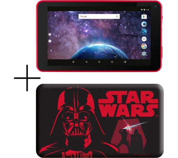 eStar 7 8 GB Android Tablet & Silicone Case | Star Wars