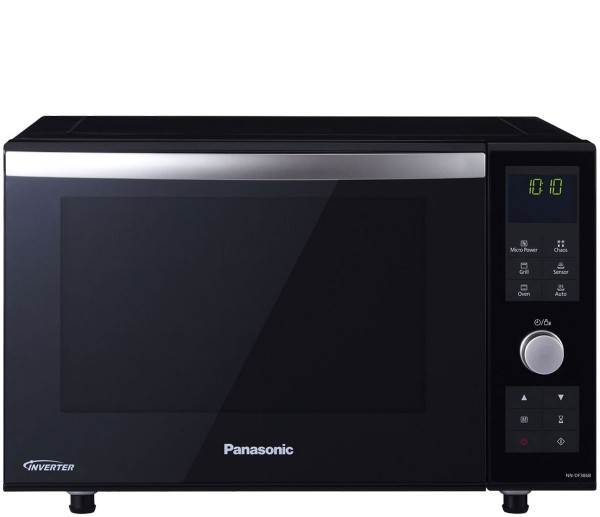 Panasonic NN-DF386BBPQ 3-in-1 Combination Microwave Oven with Grill | Black