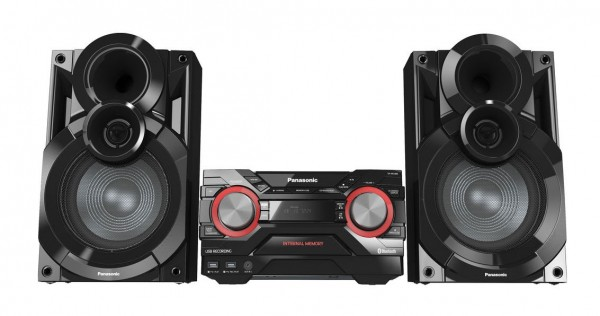 Panasonic SC-AKX400EBK FM/CD Bluetooth 600W Hi-Fi System | Black