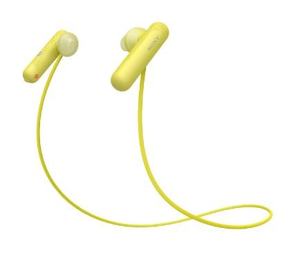 Sony WISP500Y Wireless In-ear Sports Headphones | Yellow