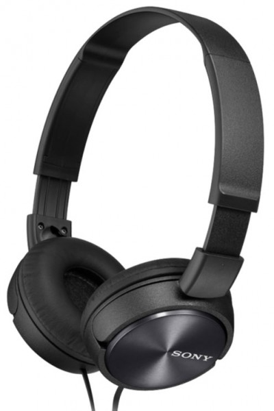 Sony MDR-ZX310B Headphones with lightweight folding design | Black