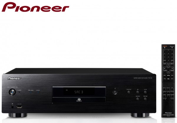 Pioneer PD-50 Super Audio CD Player with Rigid Under Base | Black